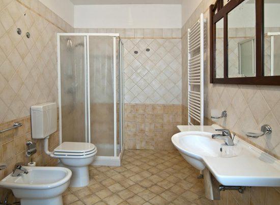 appartamento supersano rustico casa vacanze la scisa appartamenti nel salento bagno