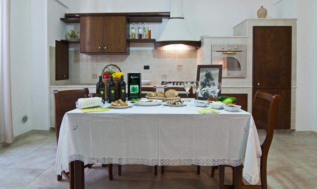 appartamento supersano rustico casa vacanze la scisa appartamenti nel salento cucina