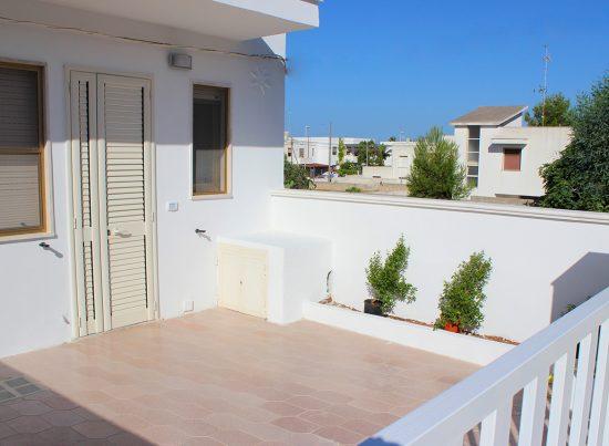 appartamento pesculuse rosa rossa casa vacanze la scisa appartamenti nel salento veranda