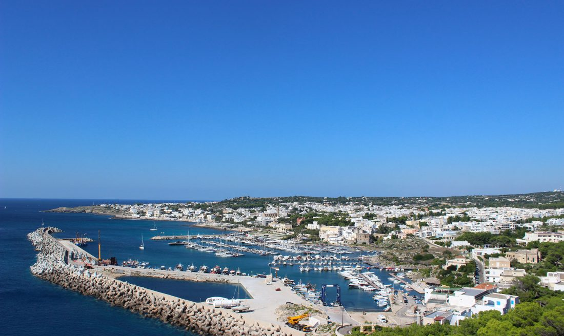 vista del porto la scisa casa vacanze e affitto appartamenti Salento