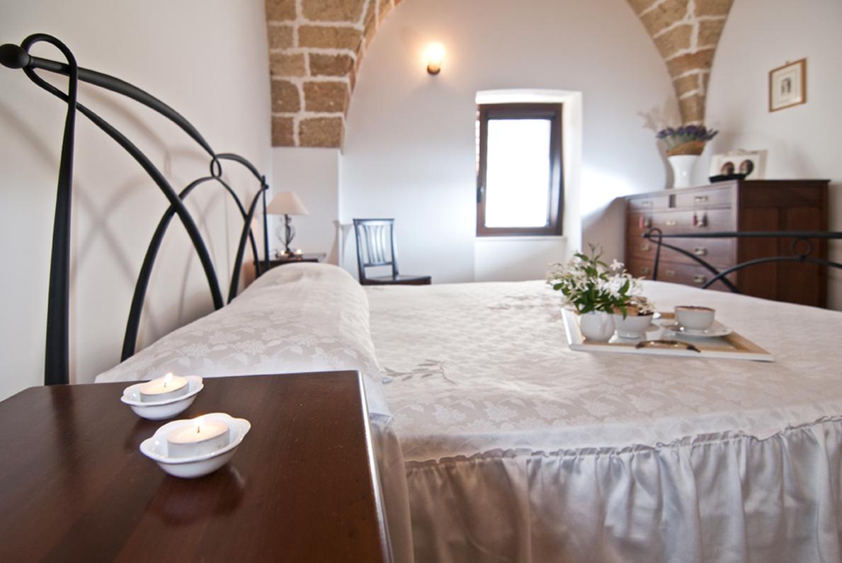 Home Holiday Salento appartamenti in affitto nel Salento camera da letto Don Camillo Casa Vacanza Agrosì